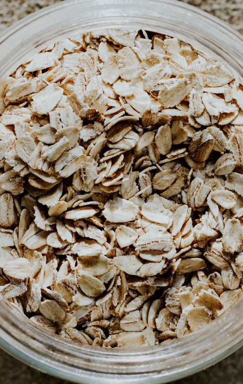 Oats are low in unsaturated fat and contain no cholesterol