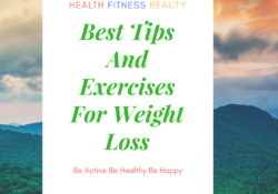 Exercises tips for weight loss