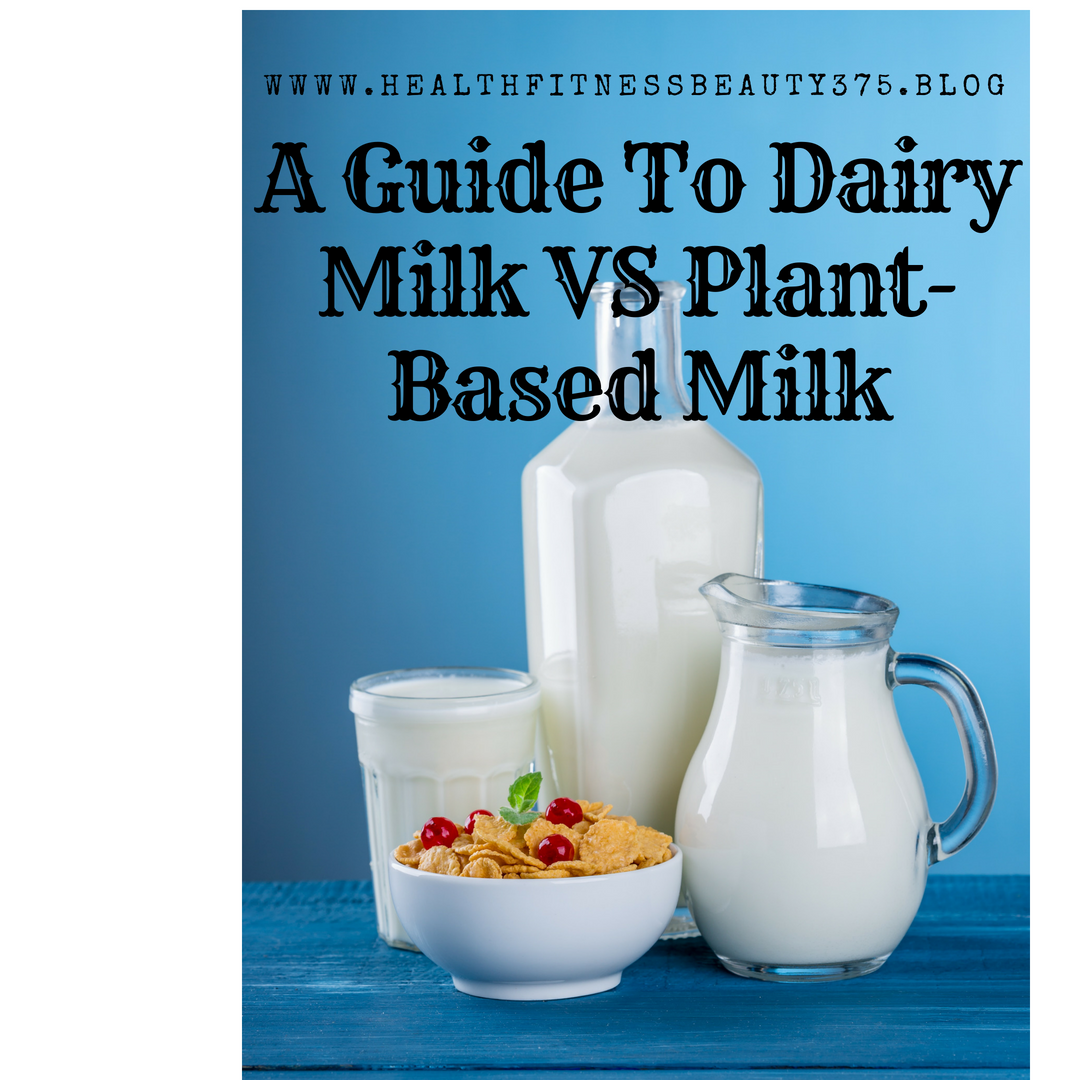 Milk guide plant based milk vs daily milk